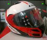 KASK LS2 FF324 METRO RAPID WHITE RED